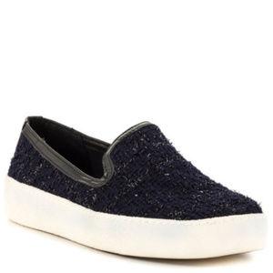 SAM EDELMAN Sparkle Slip On Sneakers